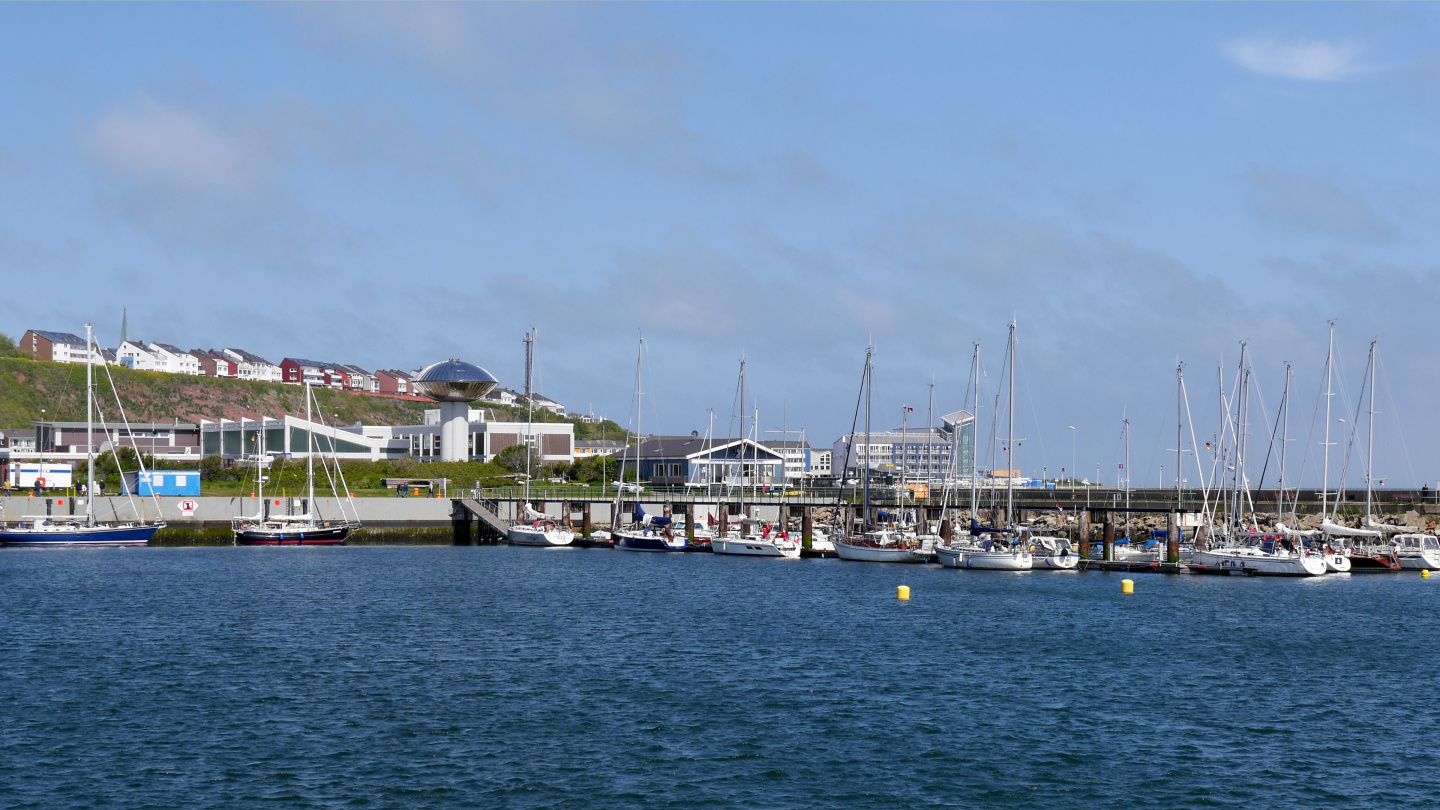 South harbour of Helgoland