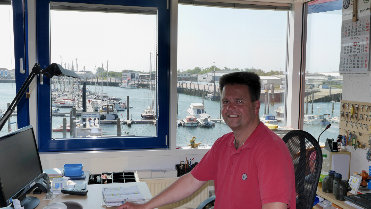 The harbourmaster of Norderney