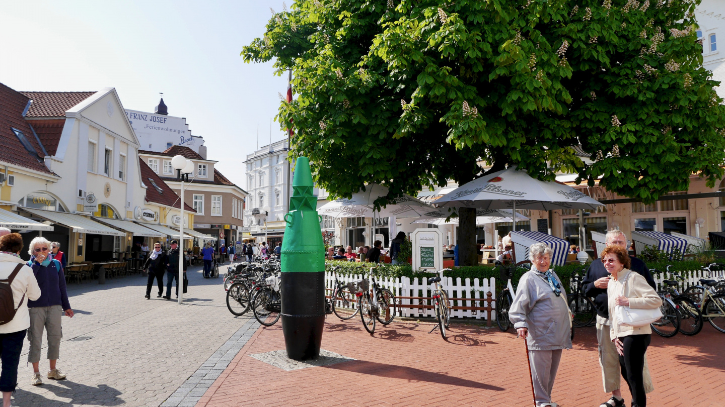 The centre of Norderney