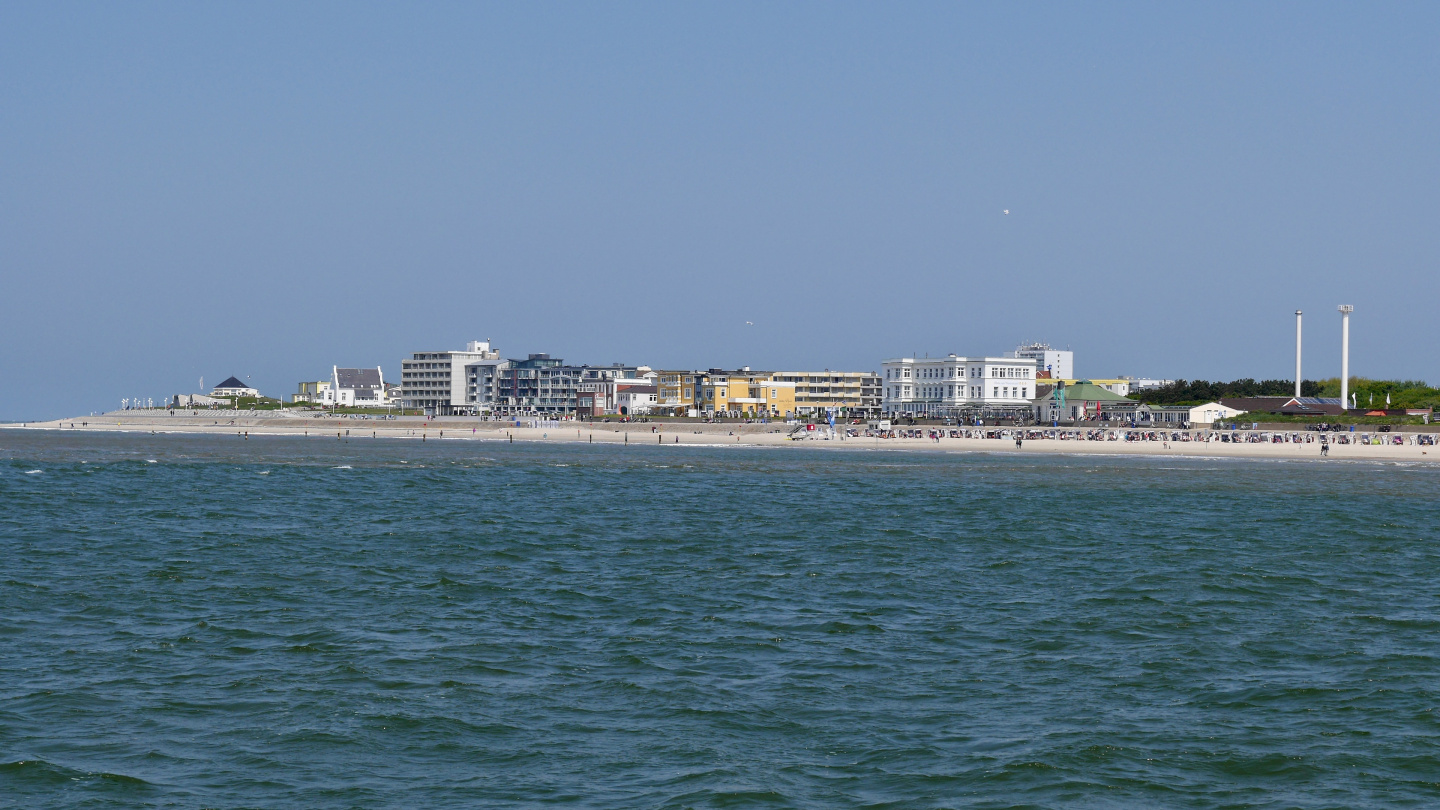 Waterfront of Norderney