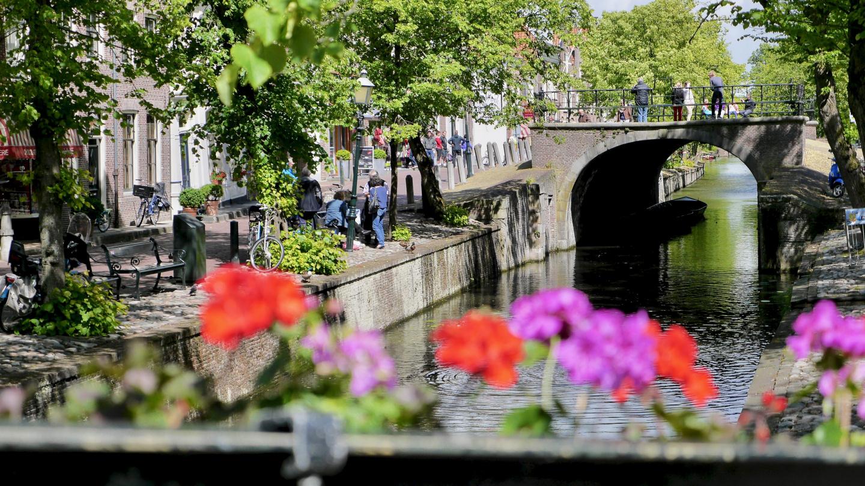 A canal in Edam