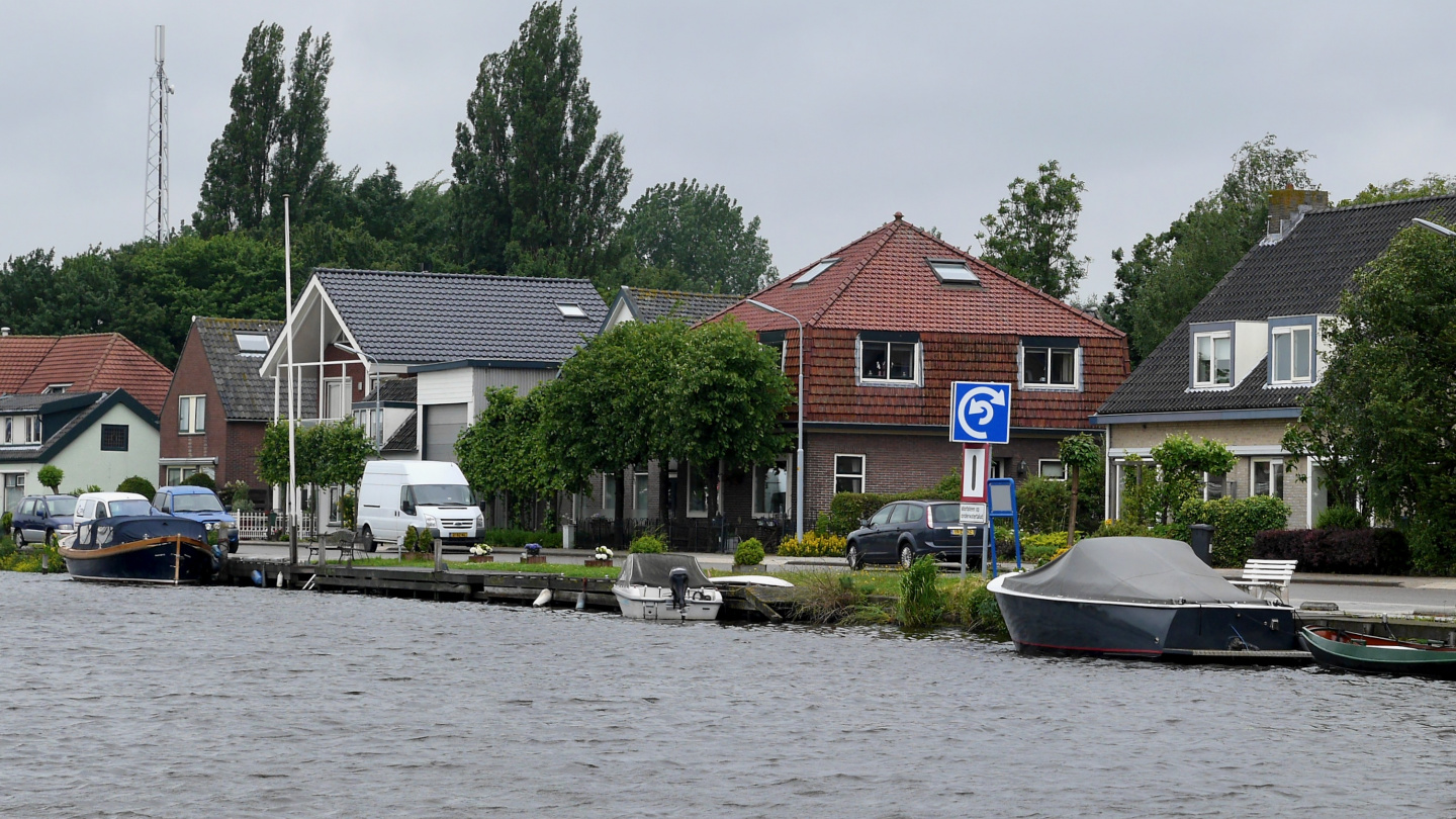 Unknown traffic sign on the Dutch canals