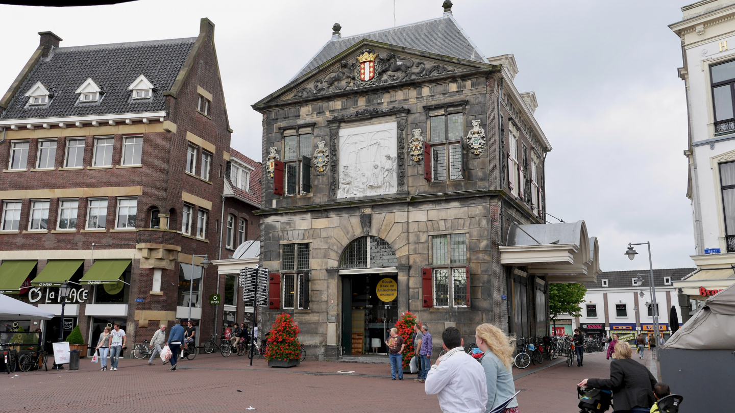 De Waag, the weighhouse in Gouda