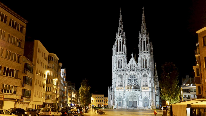 Sint Petrus-en-Pauluskerk öisessä Oostendessa