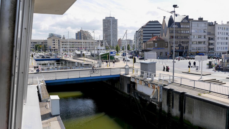 Mercator lock in Oostende