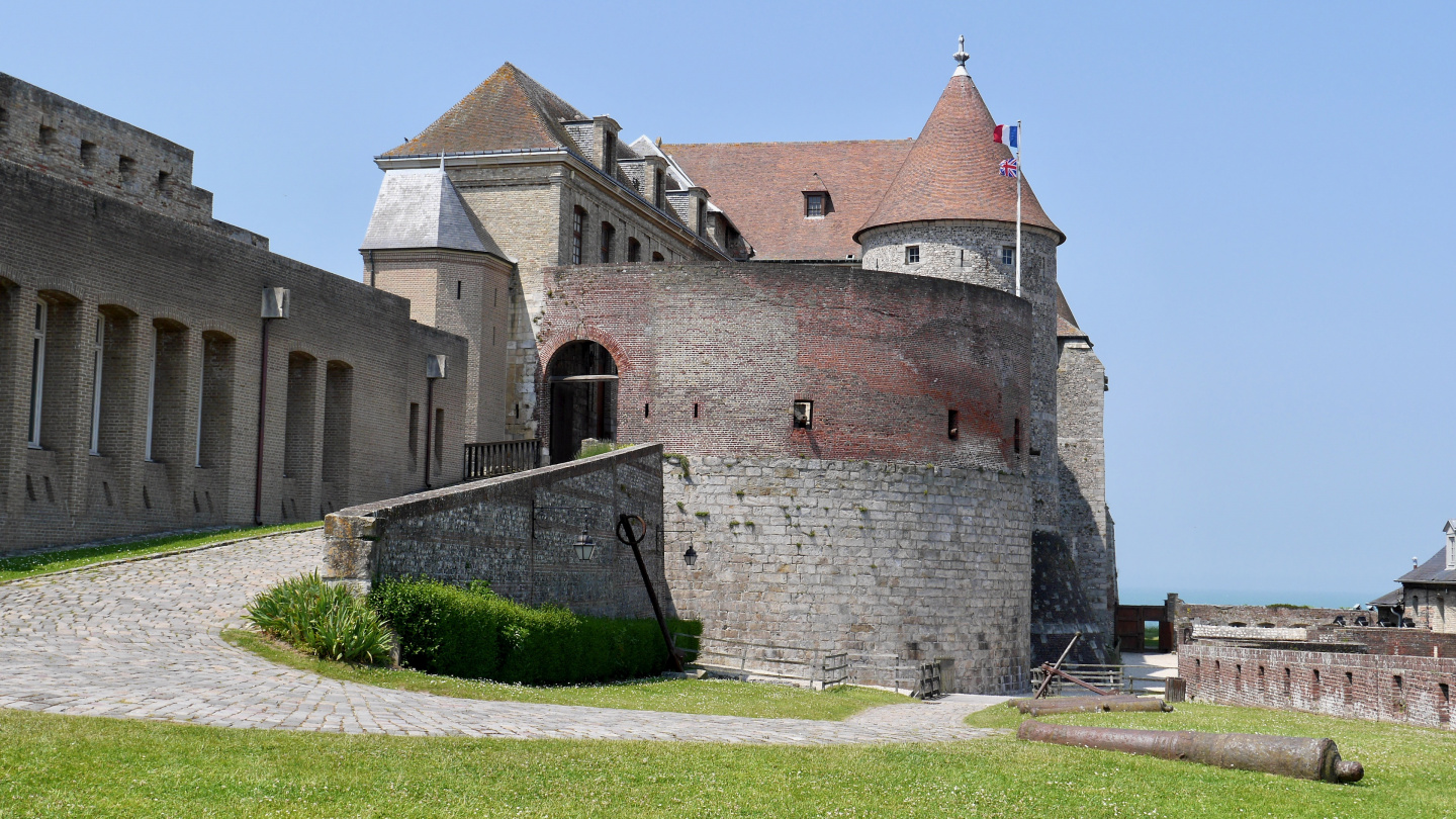 The castle of Dieppe
