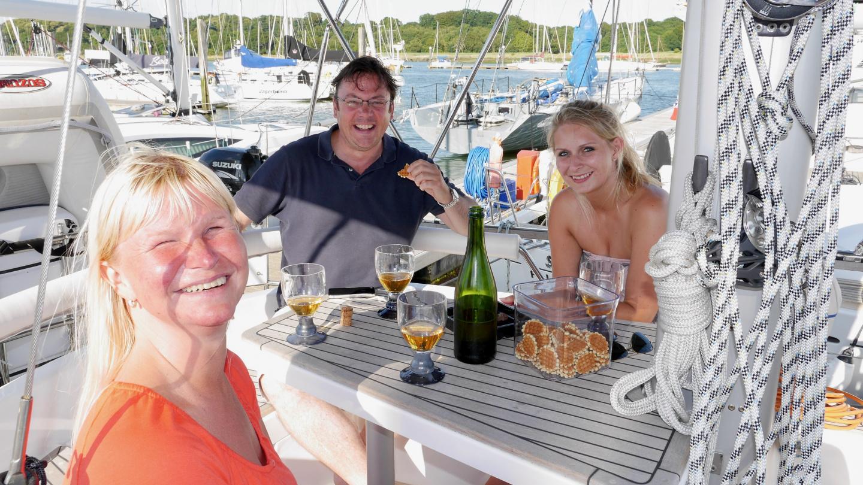Philip ja Jessica vierailemassa Suwenalla