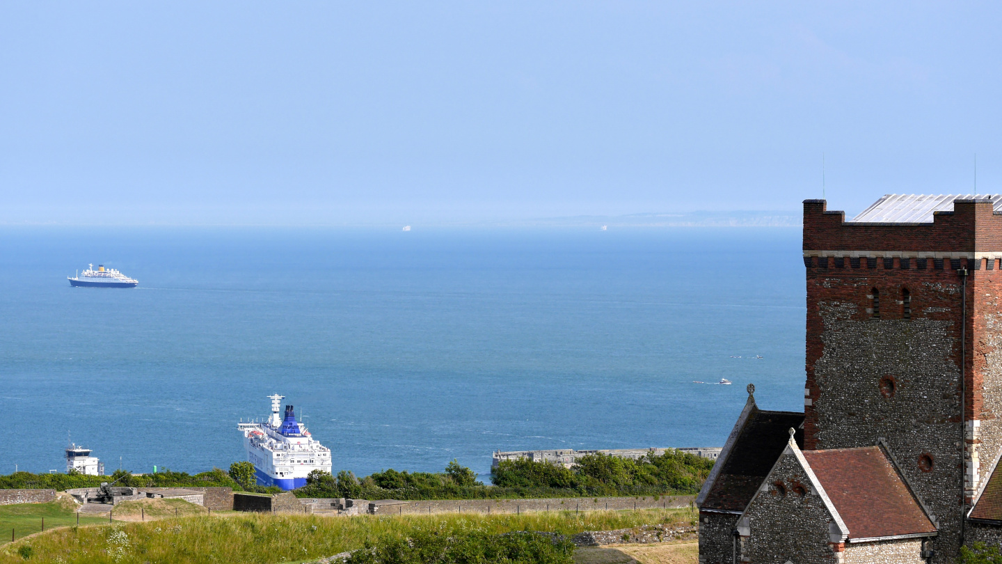 France seen from Dover