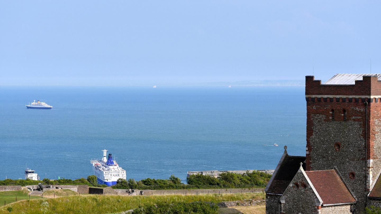 Ranska Doverista katsottuna