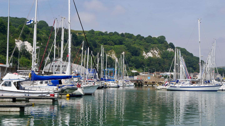 Suwena in Dover marina