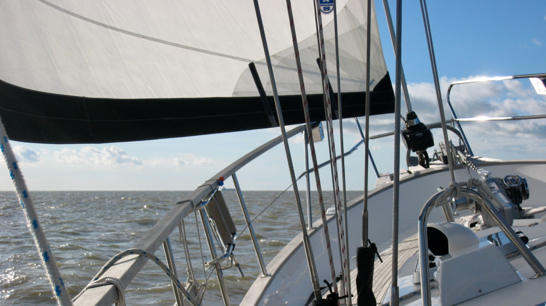 Suwena purjehtimassa Pohjanmerellä