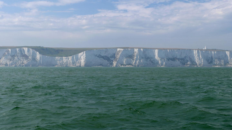 Doverin kuuluisat valkoiset kalliot