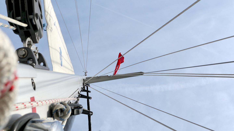 The main mast of Suwena
