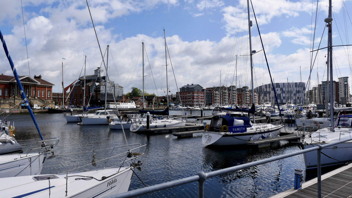 View from Ipswich Haven Marina