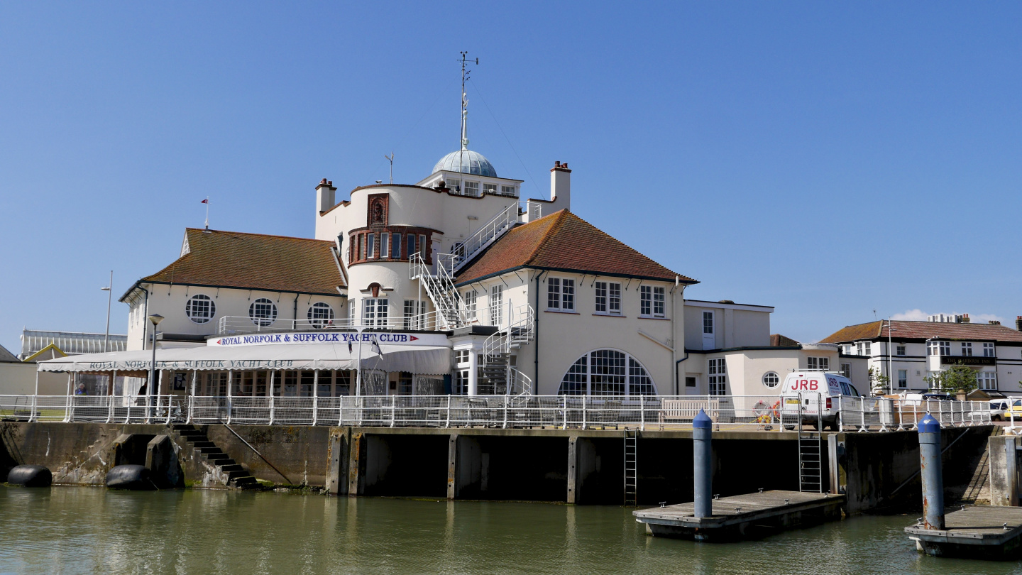 The RNSYC clubhouse in Lowestoft