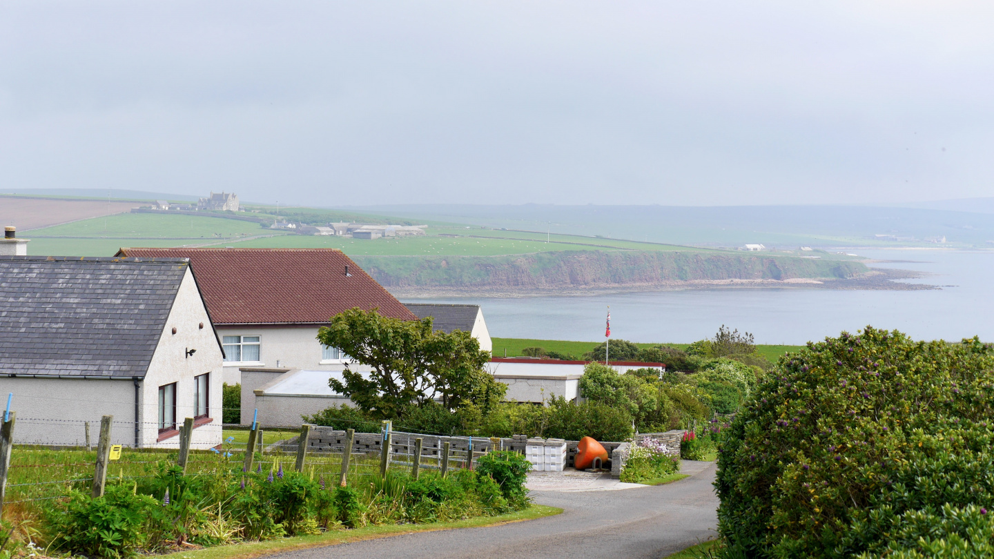 Village in South Ronaldsay island of Orkney