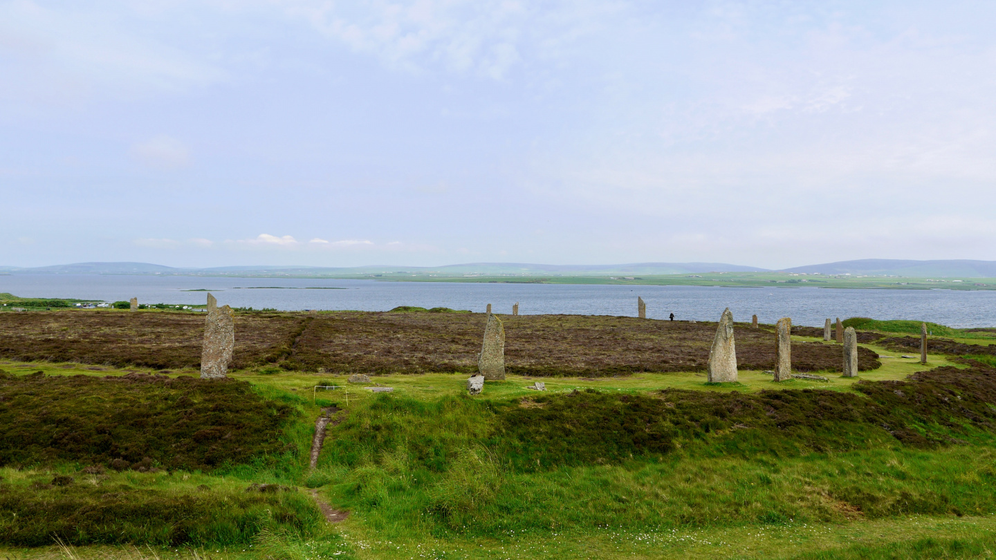 The Ring of Brodgar on the Mainland of Orkney