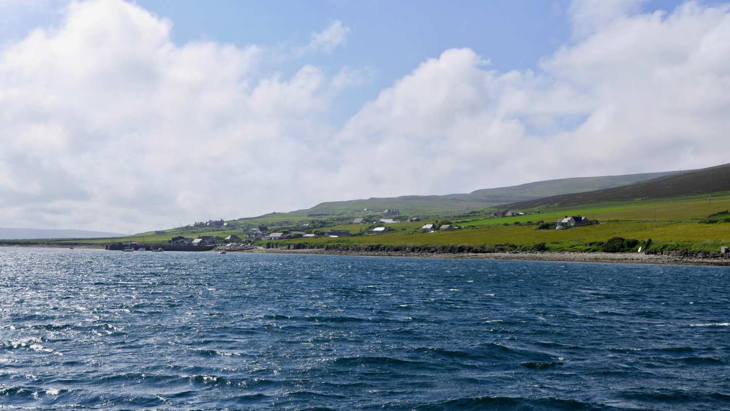 The island of Rousay in Orkney