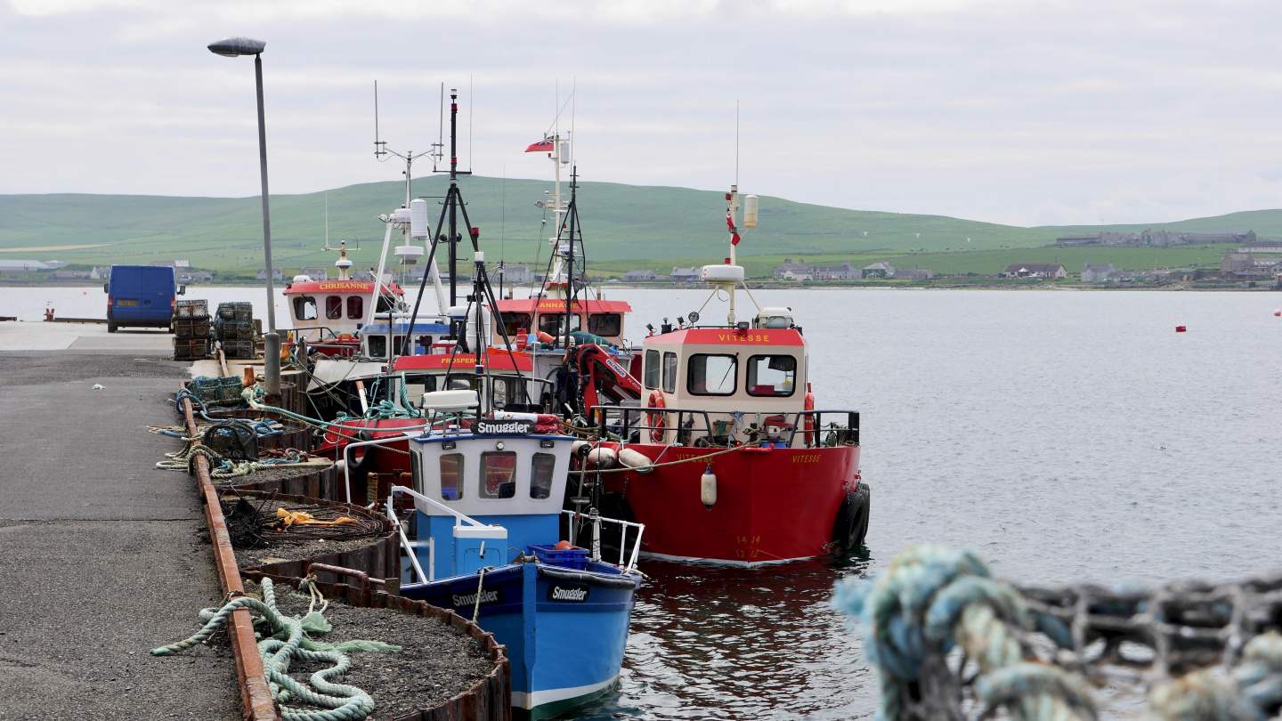 Fishing fleet of Westray