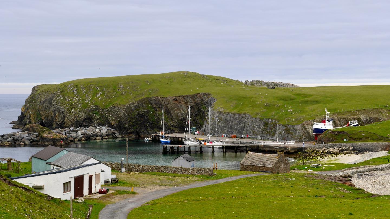 Fair Isle saaren satama