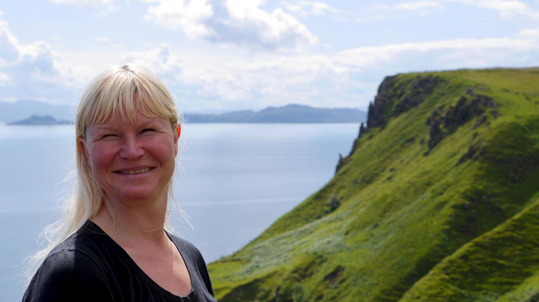 Eve on the Isle of Skye in Scotland