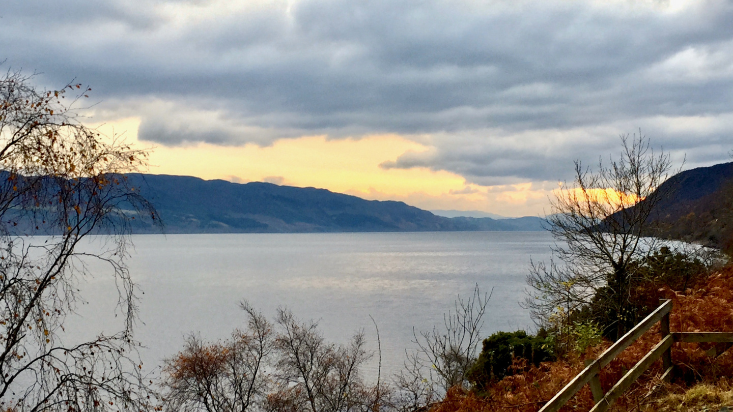 Loch Ness in the winter
