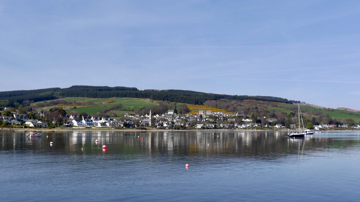 Lamlash on the isle of Arran