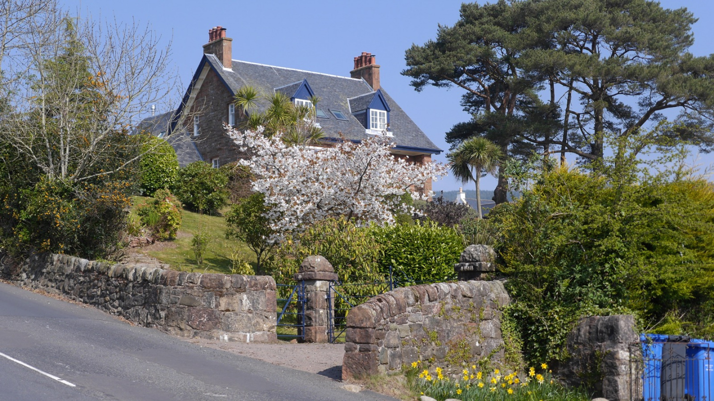 Lamlash in April