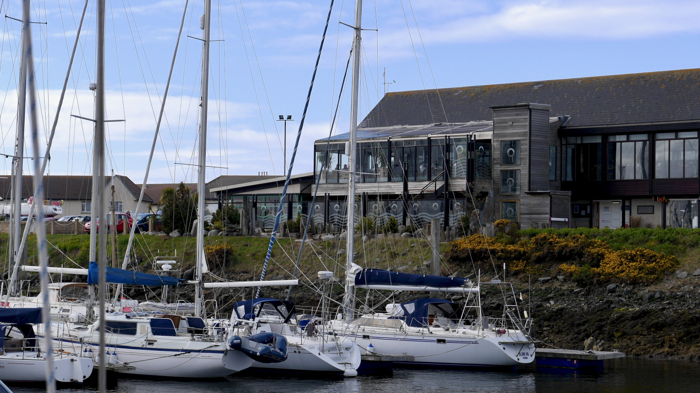 Restaurant Scotts in Troon marina