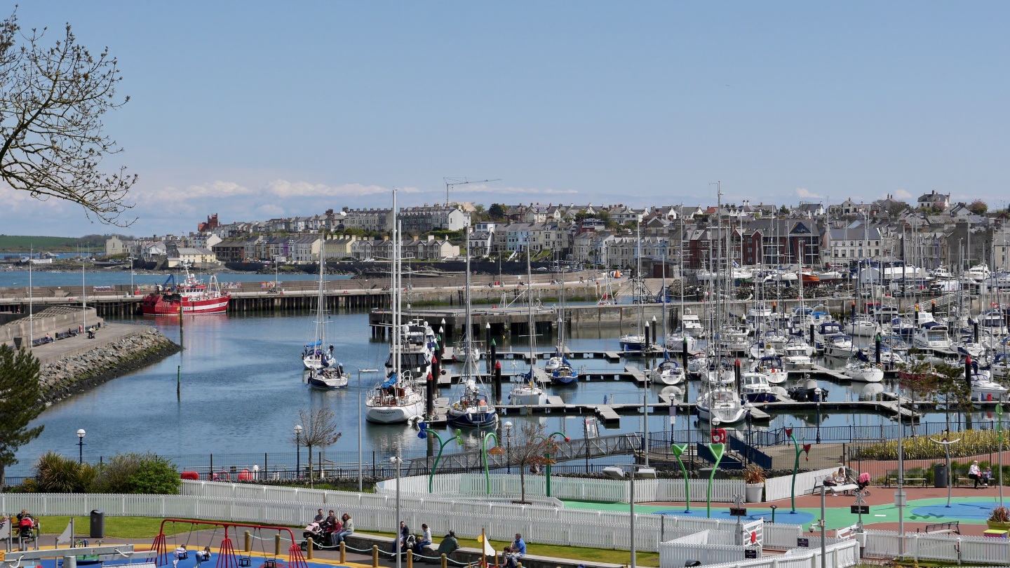 Bangor Marina in Northern Ireland
