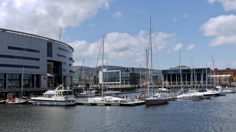 Belfast marina