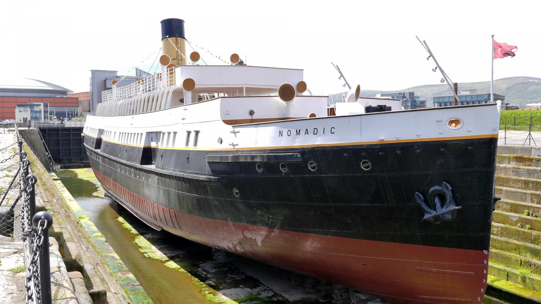 S/S Nomadic, Titanicin jolla Belfastissa