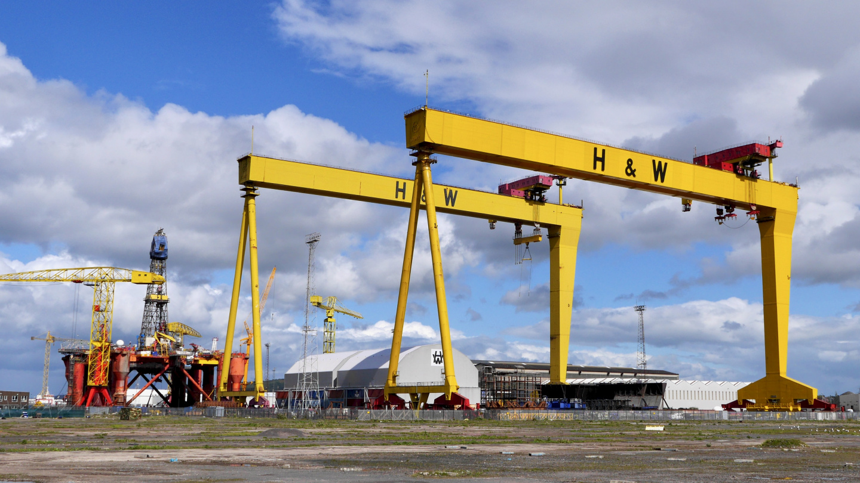 Samson and Goliath cranes in Belfast