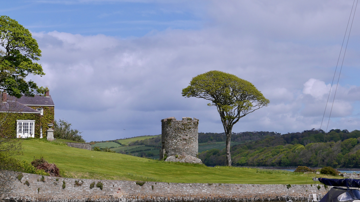 The guard tower of Strangford
