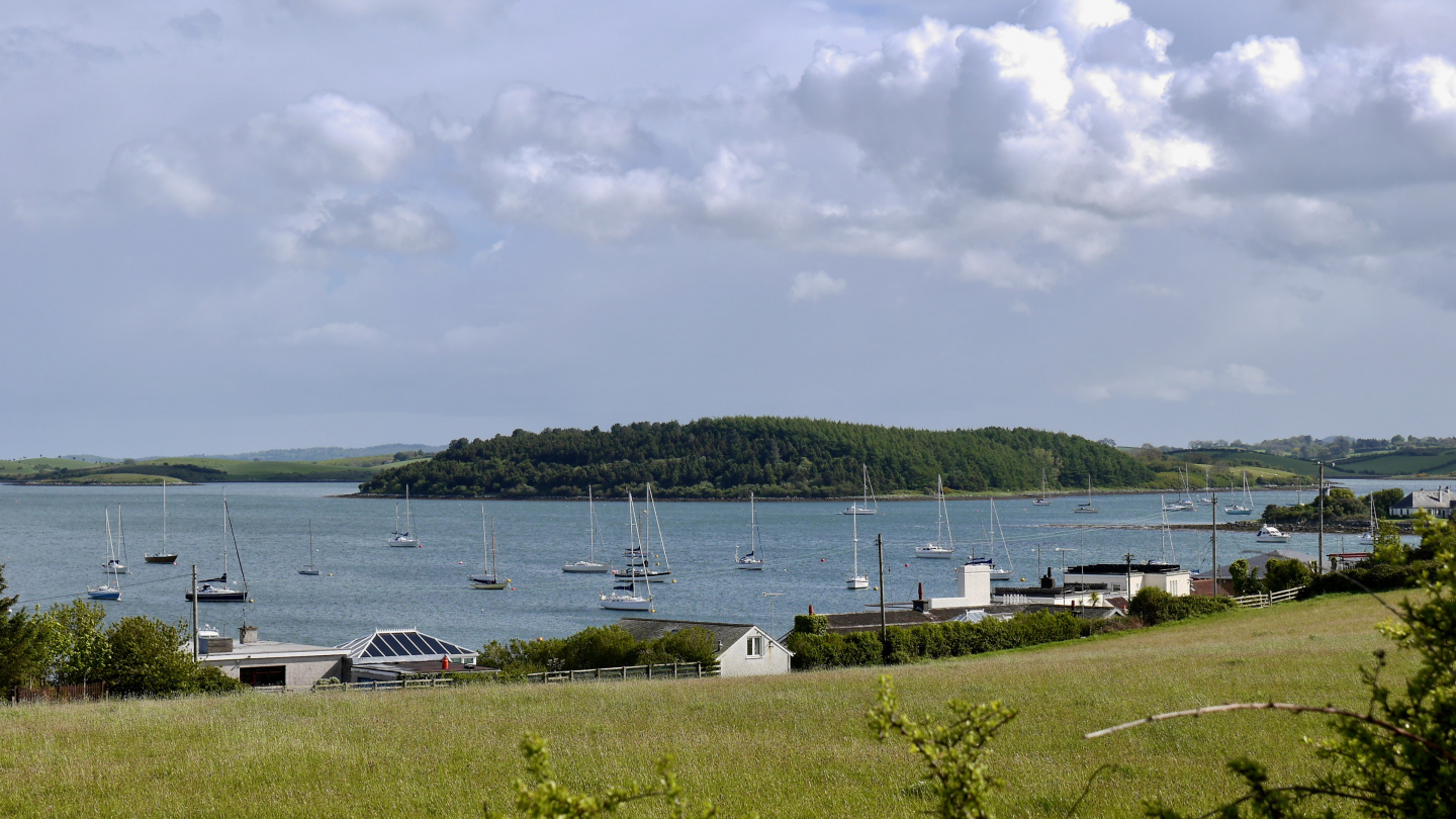 Anchorage on Strangford Lough