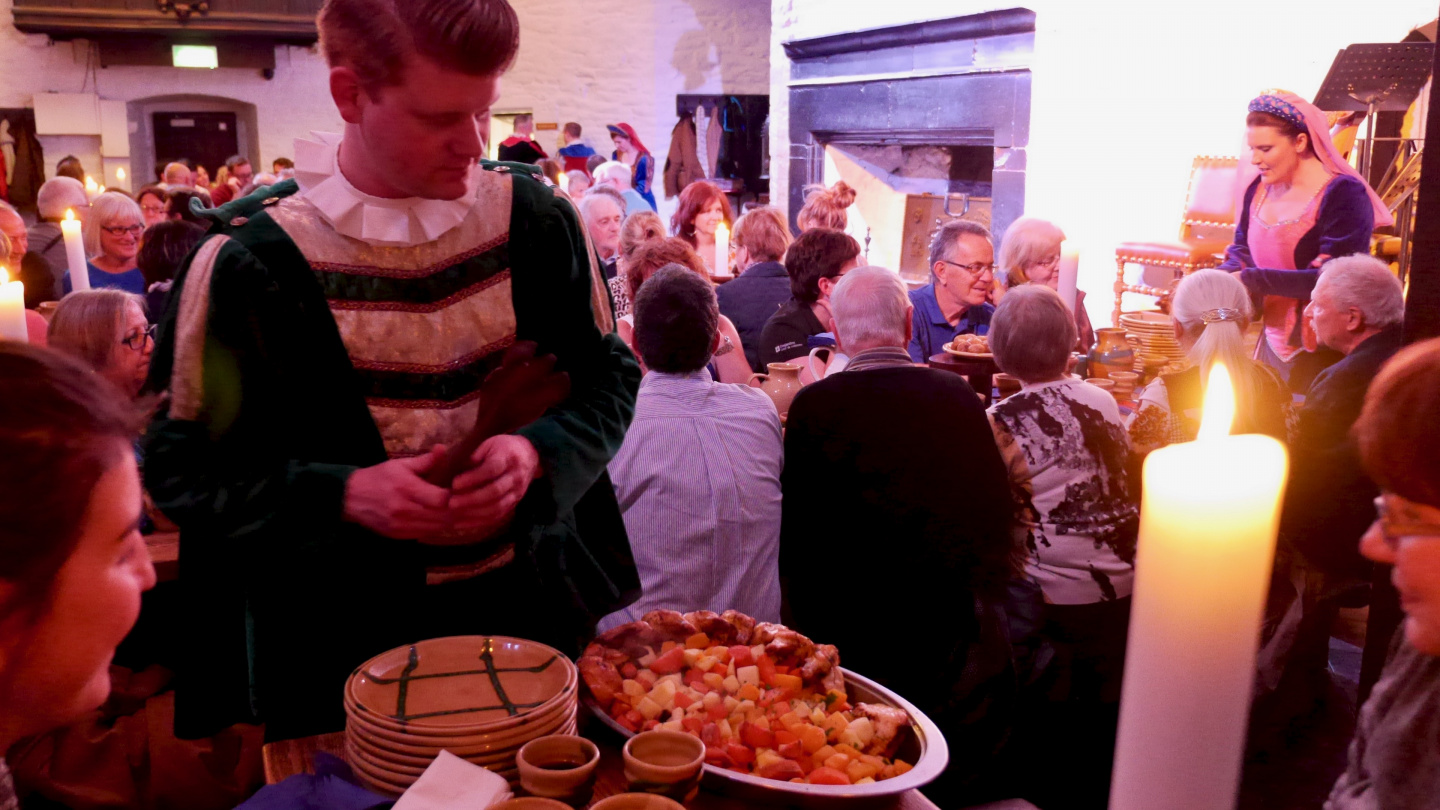 Medieval feast in Bunratty Castle