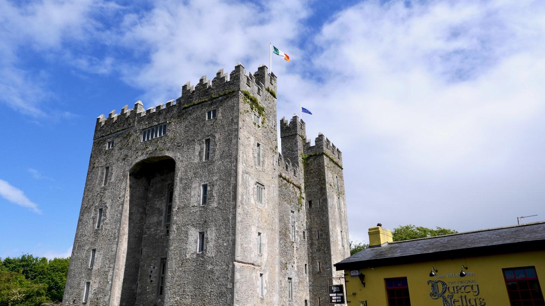 Bunratty linna Länsi-Irlannissa