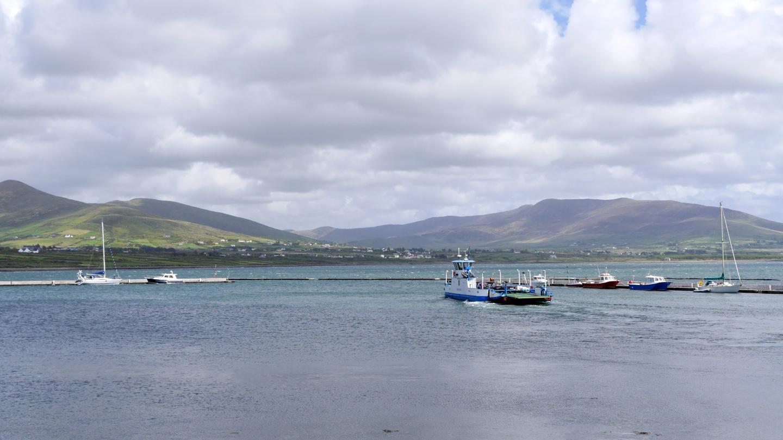 Ferry to the Valentia Island in Ireland