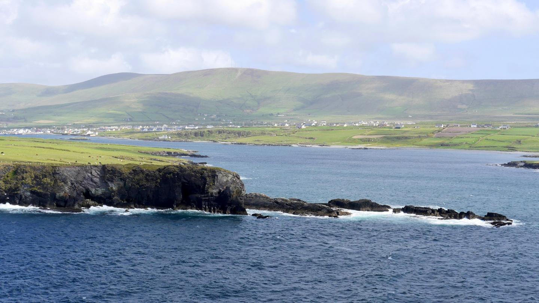 Coast of Kerry in Western Ireland