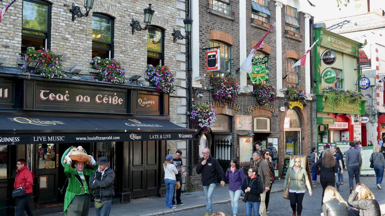 Aitoja irkkupubeja Dublinissa