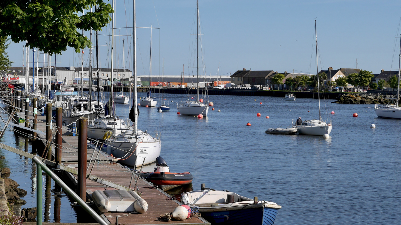 The marina of Arklow