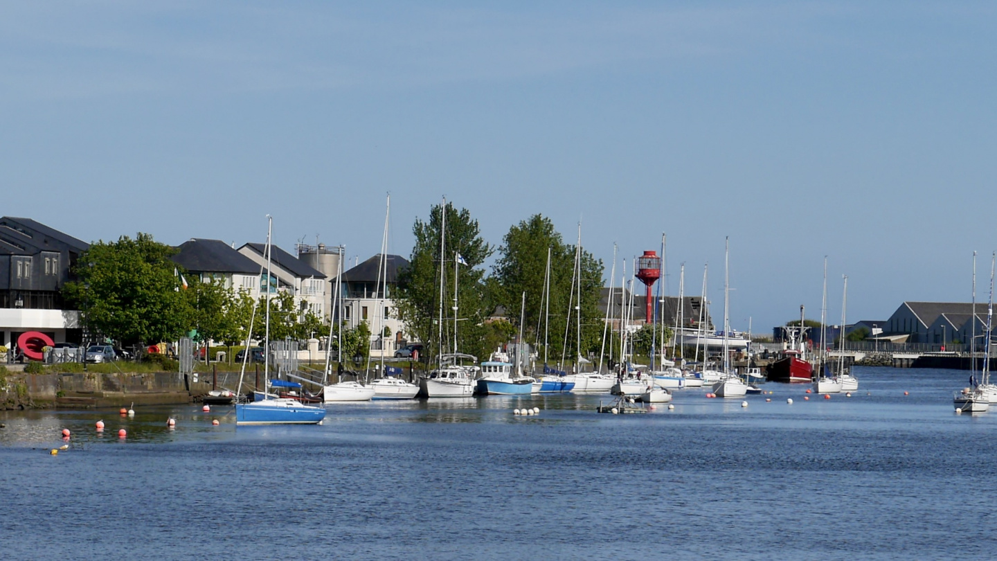The marina of Arklow