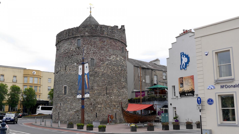Viikinkiaikainen Reginaldin torni Waterfordissa Irlannissa