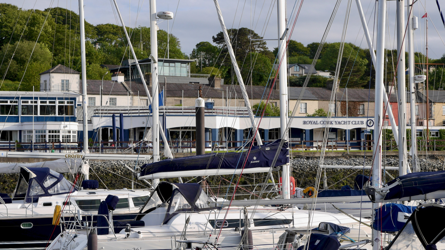 Royal Cork Yacht Club seuran klubitalo