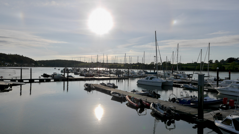 The marina of Royal Cork Yacht Club