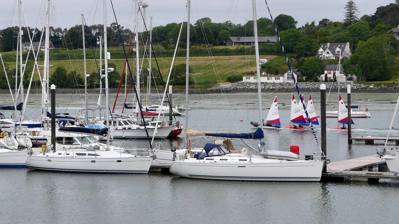 Suwena Royal Cork Yacht Club seuran satamassa