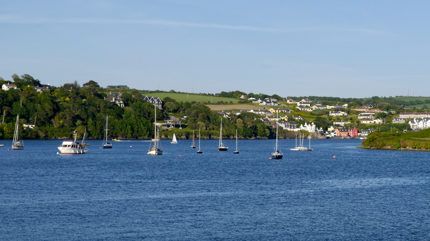 The view from Kinsale in Ireland