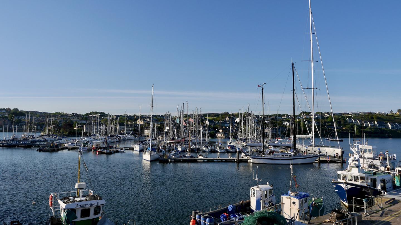 The marina of Kinsale Yacht Club in Ireland