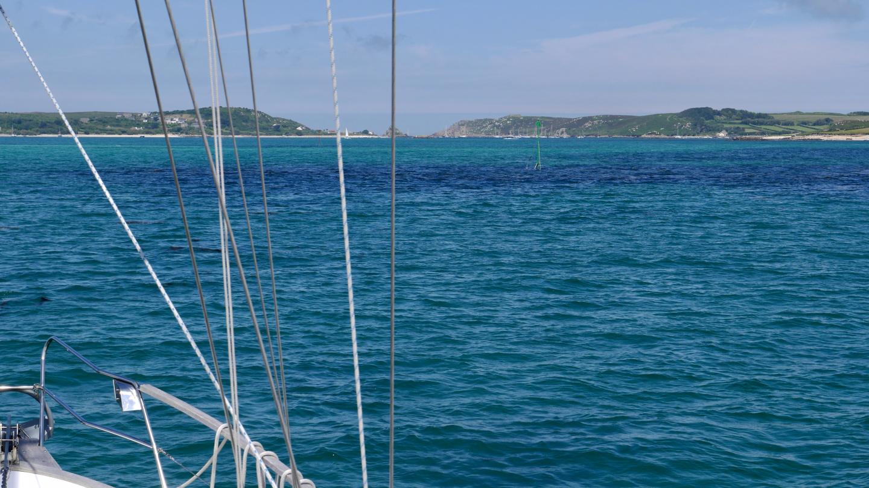 Suwena matkalla Tresco saarelle Scillynsaarilla