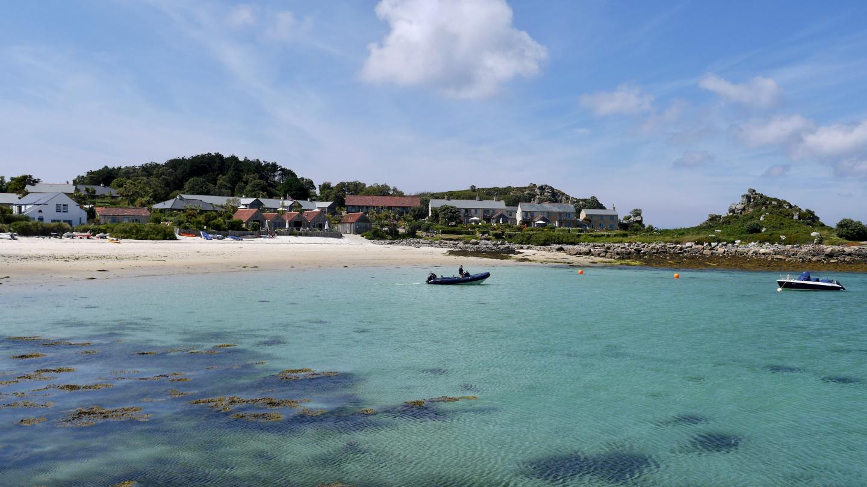 Loma-asuntoja Tresco saarella Scillynsaarilla